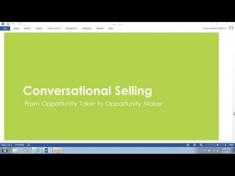 2017 08 03 08 58 Conversational Selling Group Collaboration