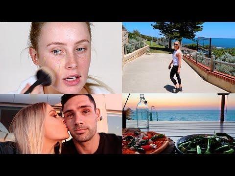 BEST NEW DRUGSTORE FOUNDATION?! Wear Test + Vlog!   Lauren Curtis