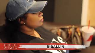 Riballin Performs at Direct 2 Exec Atlanta 9/9/18 - Atlantic Records