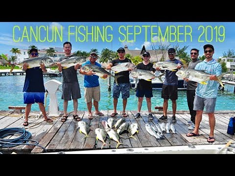 Fishing Off Mexican Shores - Cancun Mexico