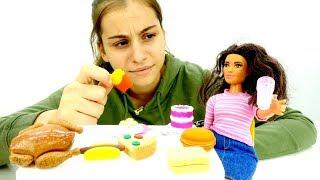 Видео для девочек - Игры в Барби - Тереза похудела