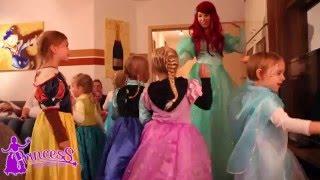 Meerjungfrau Prinzessin - Kindergeburtstag