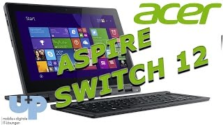ACER ASPIRE SWITCH 12 - UNBOXING & REVIEW - by U+P SYSTEMHAUS ( deutsch / german)