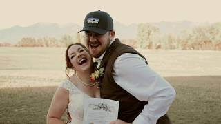 Michaella & Connor | 10.12.19 | Married in Montana