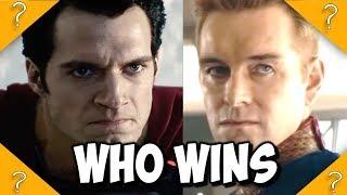 What if Superman met Homelander