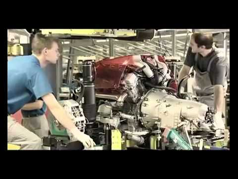 Mercedes Benz Mass Production Manufacturing - YouTube