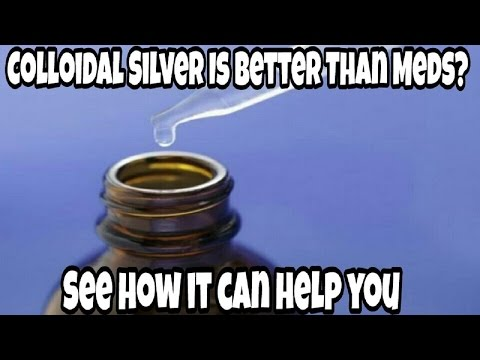 Nature always finds a way! COLLOIDAL SILVER!
