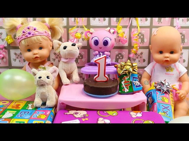 Fiesta Cumplemes del Ksi Merito Machincuepa con las Bebés Nenuco Hermanitas Traviesas y Regalos