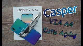 Casper VIA A4 Kutu Açılışı