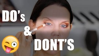 Download DO'S & DONT'S | Best Eyeshadow Tips Mp3 and Videos