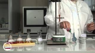 Определение концентрации вещества в растворе методом титриметрии