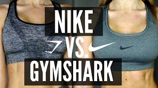 Nike vs. Gymshark Sports Bra | Try On & Review