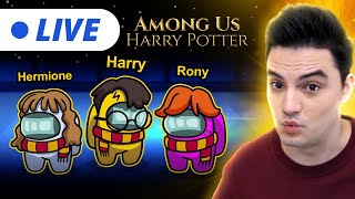 LIVE - AMONG US VERSÃO HARRY POTTER! [+10]