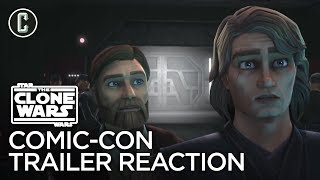 Star Wars: The Clone Wars Comic-Con Trailer Reaction & Review