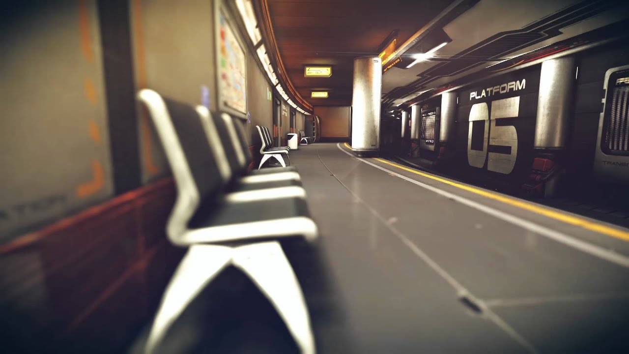 subway station 1080p youtube. Black Bedroom Furniture Sets. Home Design Ideas