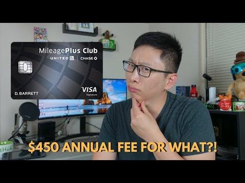 United MileagePlus Club: $450 Annual Fee for What?!