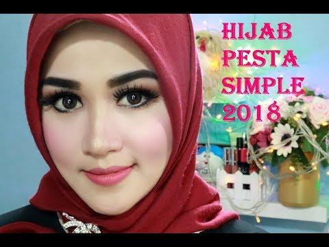 Cara Hijab Simple,glamor Dan Mewah Dan Gampang Ditiru [ untuk ke pesta ]