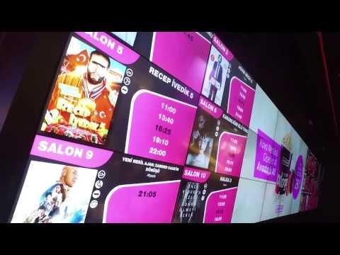 Mars Cinema Group Digital Signage Projesi