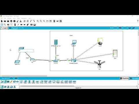 How to Control IoT Devices From Remote Location in Cisco Packet tracer