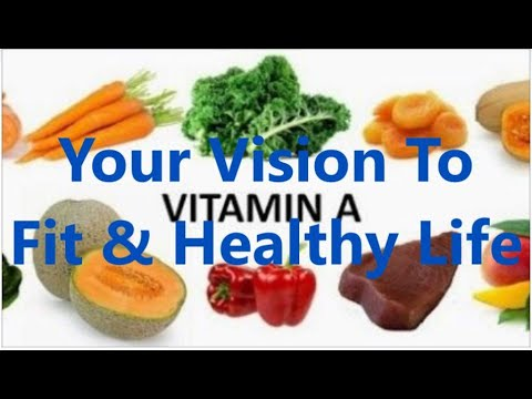 what vitamin a good for