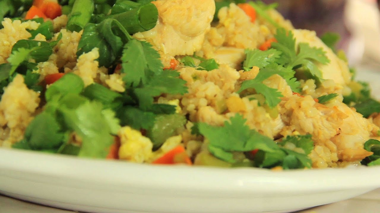how to make chicken fried rice video