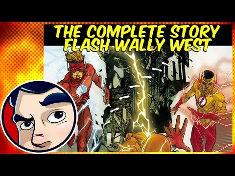 """Flash """"Wally West of Two Worlds"""" - Rebirth Complete Story"""