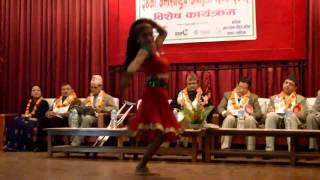 One Leg Nepali Dancer ||| Roma Neupane.