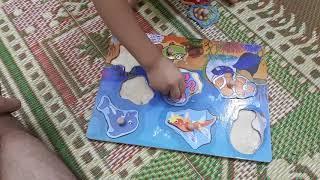 Ghép hình cho bé 2 tuổi
