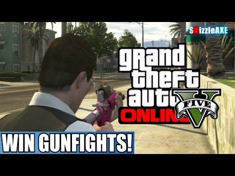 GTA 5 Online: BEST Gun To Use & BEST Attachments! WIN Gunfights Tips & Tricks! (GTA V)