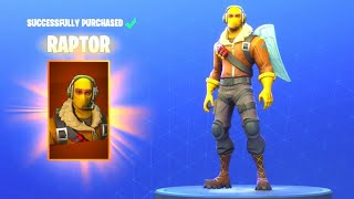 "*NEW* Fortnite: How To Get ""RAPTOR"" Skin For FREE! Fortnite Daily Item Shop [August 22nd] Ventura"