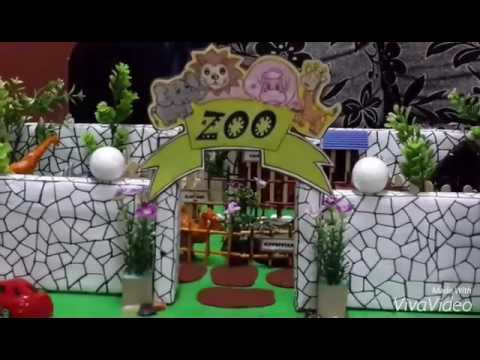 Mini Zoo Project Prepared By Riyaaz Collection Youtube
