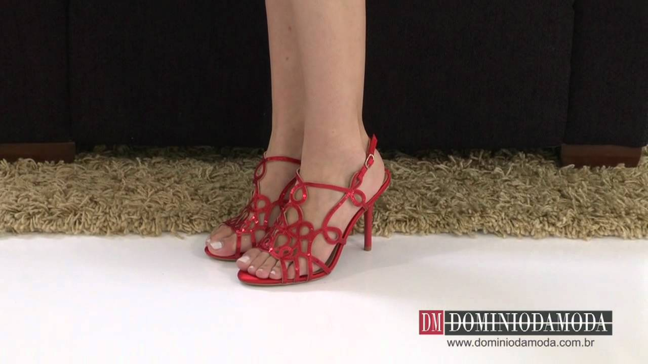 De sandalia salto vermelha da marca werner - 1 part 3
