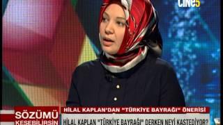 HİLAL KAPLAN'DAN TÜRK BAYRAĞI AÇIKLAMASI 2017 Video