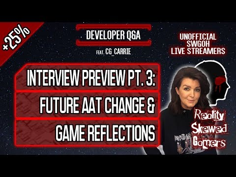 Developer Q&A feat. CG_Carrie Pt. 3 | Star Wars: Galaxy of Heroes #swgoh