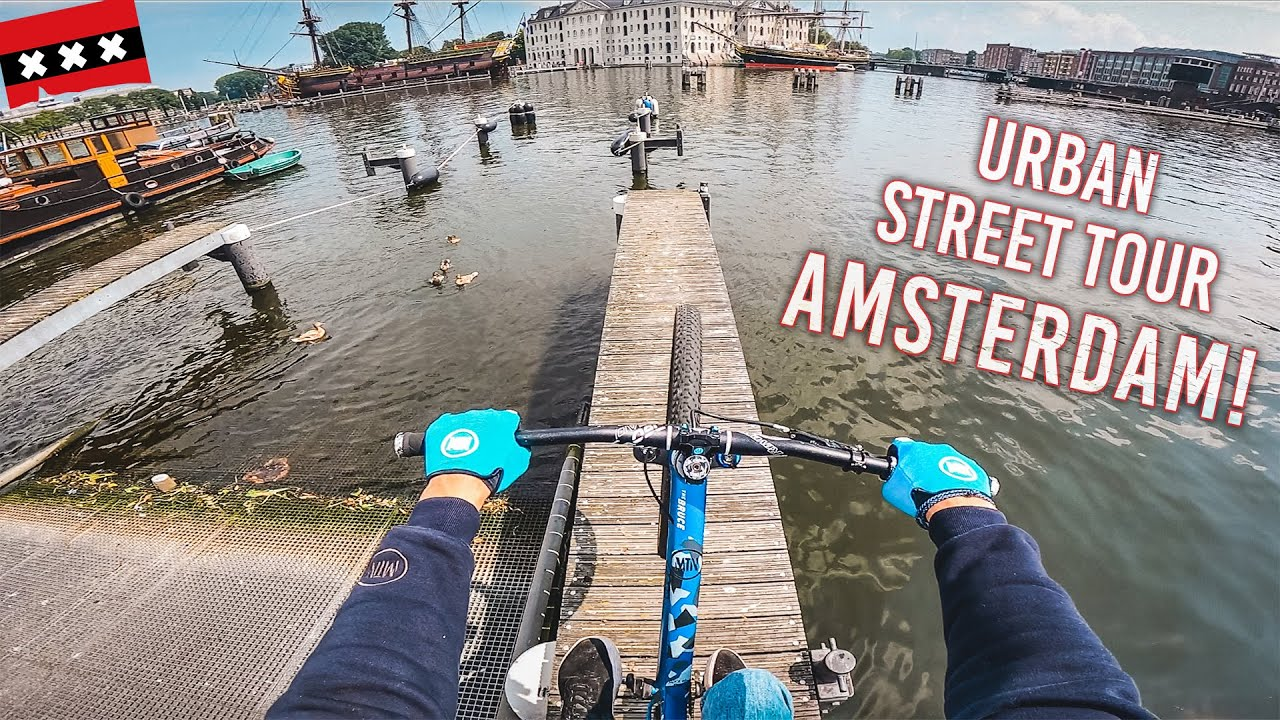 URBAN MTB STREET TOUR Amsterdam!