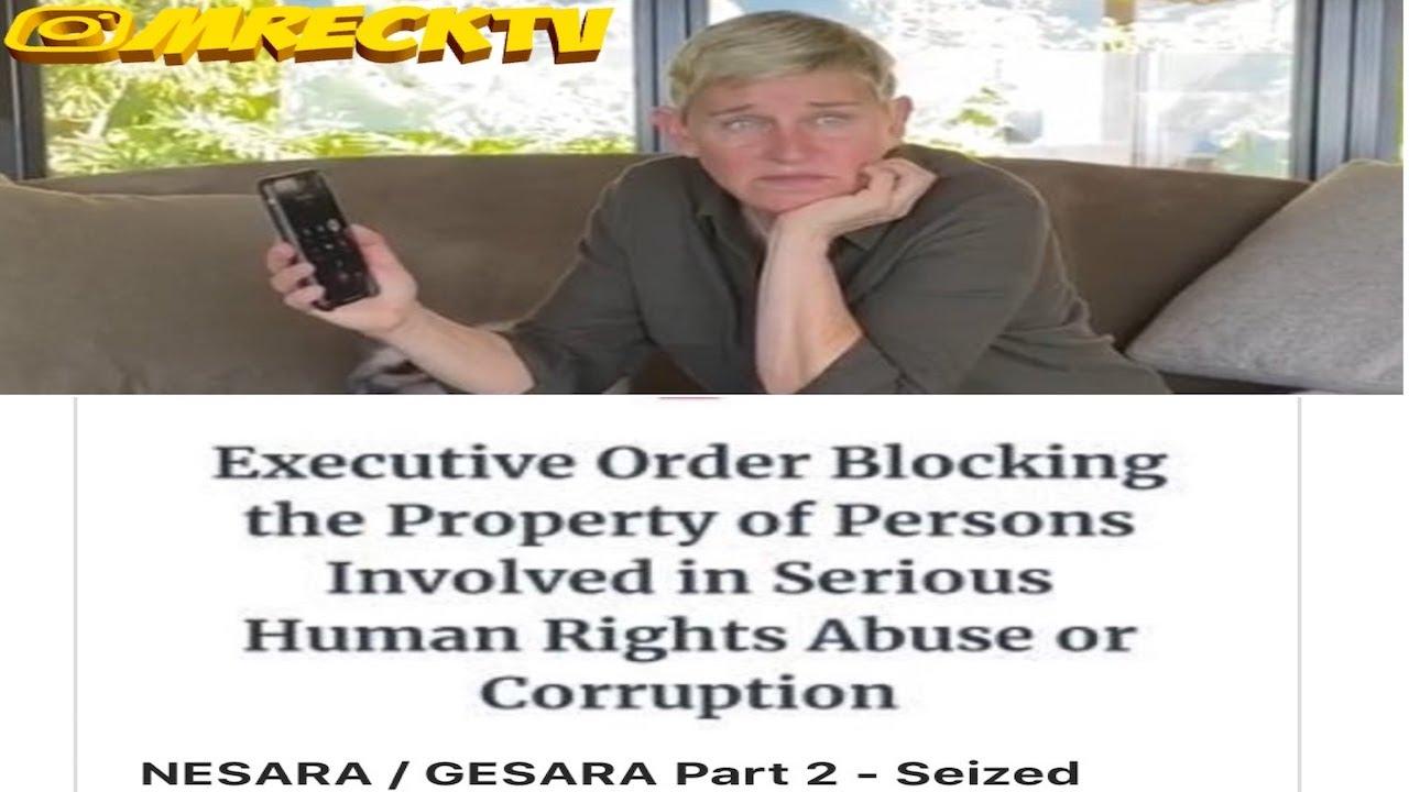 Ellen & W!cked Celebrities Finances Seized+Accounts Frozen?|Aminah Provides Proof/Receipts|Alleg