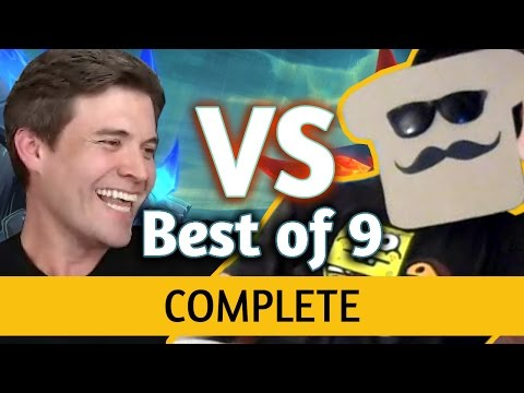 (Hearthstone) Kibler VS Disguised Toast: Un'Goro Best of 9 ALL GAMES