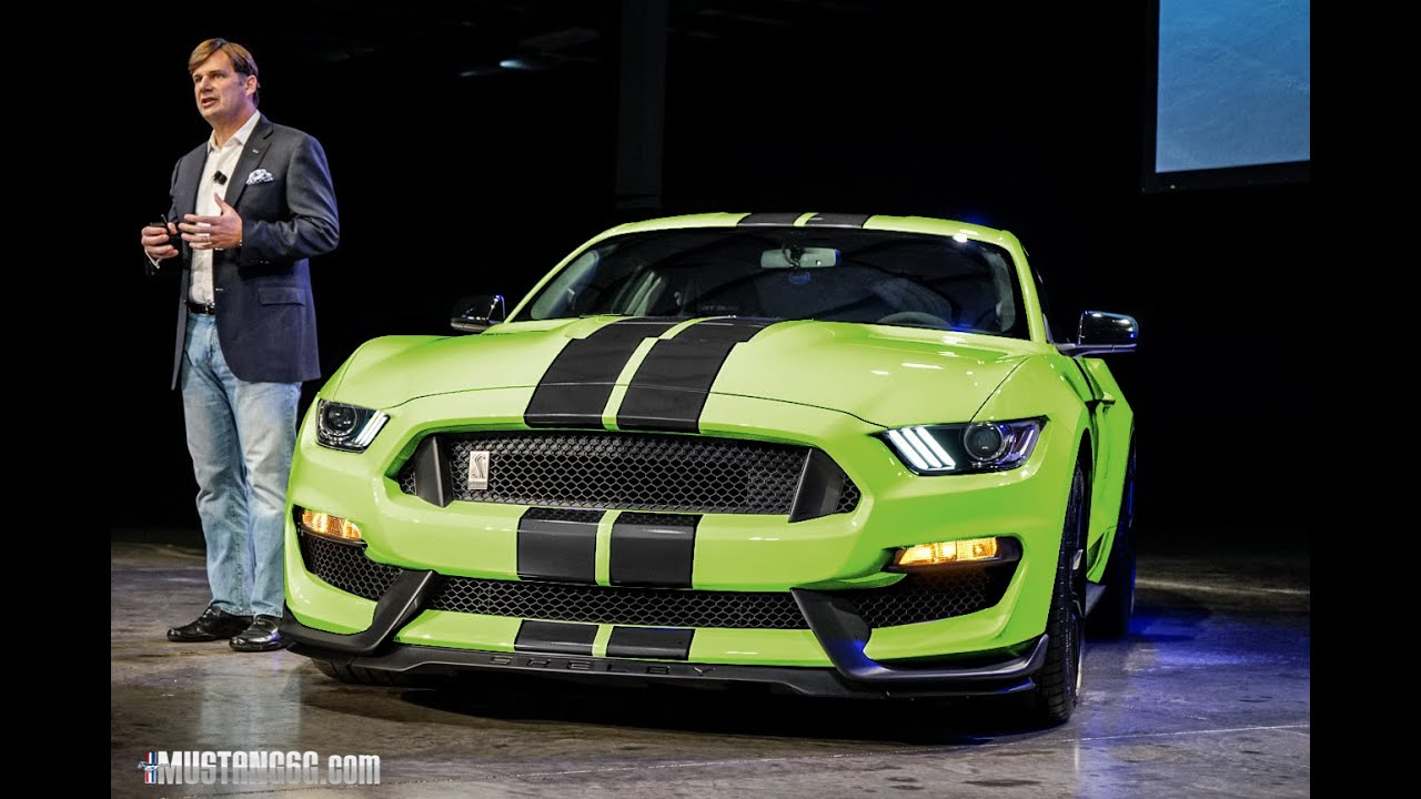 2016 Gt350 Fastback In Different Color Configurations