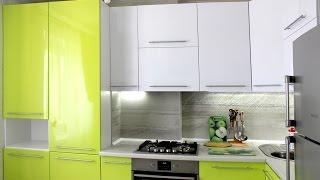 Кухня на заказ с газовой колонкой