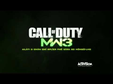 Call of Duty Modern Warfare 3 Trailer – Italie Teaser.