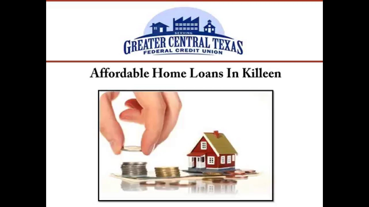 Affordable Home Loans In Killeen - YouTube