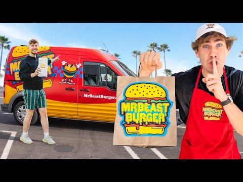 I STOLE MrBeast Burger From MrBeast!