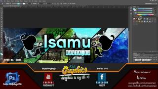 Speedarts By Krisgraphicsfx Isamu Baner Youtube By Krisgraphicsfx