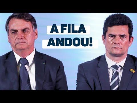 Sergio Moro: o declínio do superministro no governo Bolsonaro