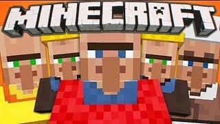 Minecraft 1.11. ТУПЫЕ ЖИТЕЛИ! Ферма железа 2. Выживание 27 (майнкрафт прохождение)