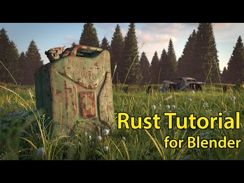 How to Make Rust in Blender