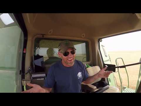 Combine Karaoke meets Lip Sync Battle in my John Deere