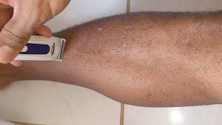 De o efeitos da barbear perna cabelo