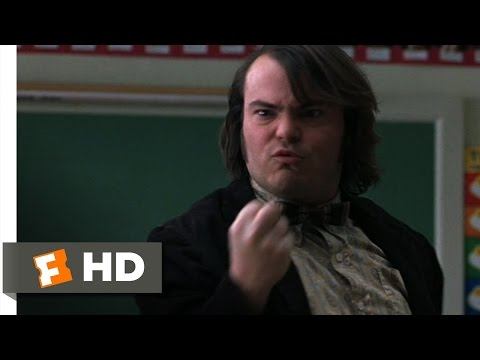 The Man  The School of Rock 310 Movie  2003 HD
