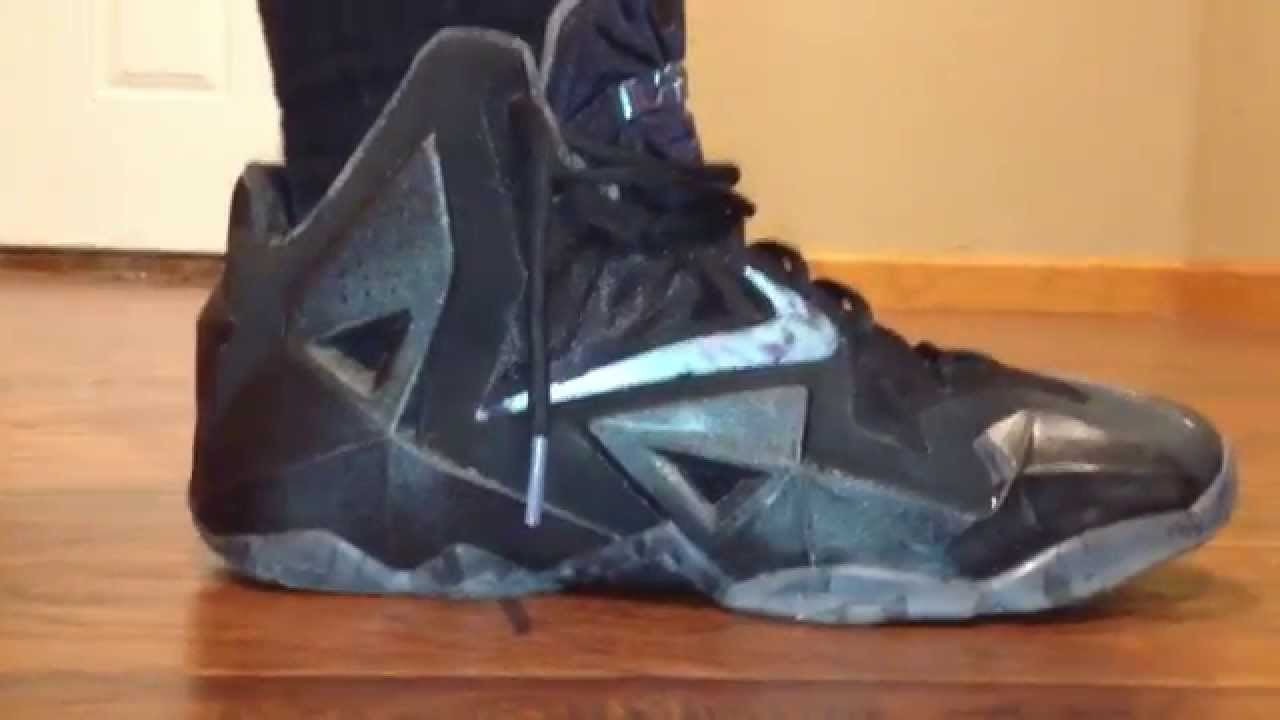 lebron 11 blackout - photo #20